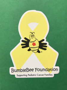 BBF Cancer Ribbon Magnet